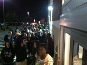 Shoppers line up at Best Buy in Oldsmar, Fla., for their Black Friday midnight opening.
